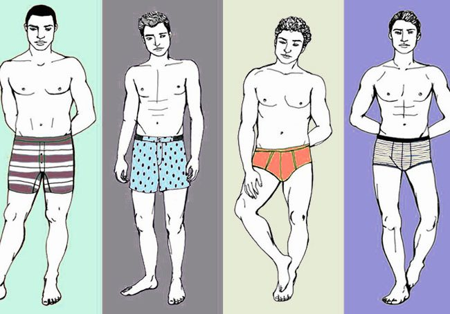 different underwear style for men to check which styles is best for men