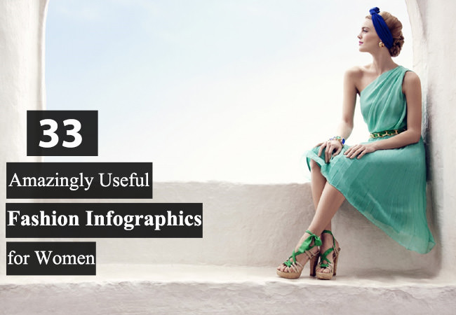 women fashion infographics