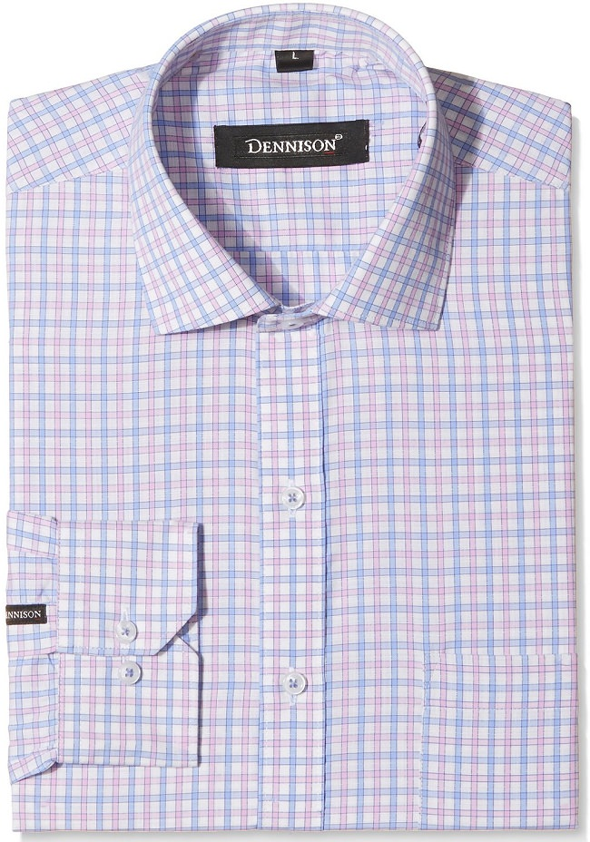 multicolor checked formal shirt