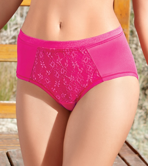 pink classic bikini brief, which type of panty use in periods