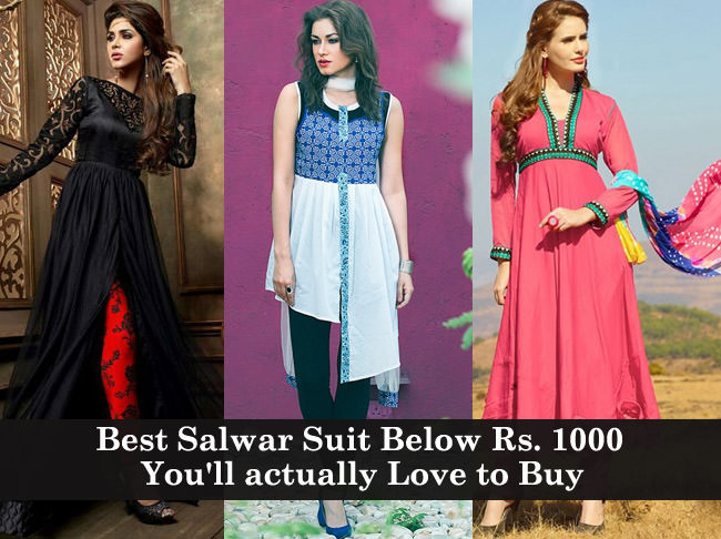 3b55302d3 Best Salwar Suit Below Rs. 1000 you will actually love to buy ...