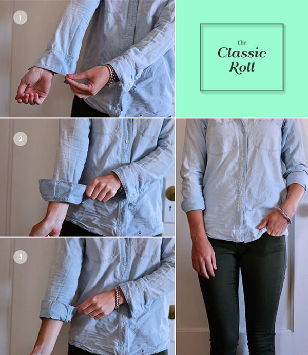 the classic roll sleeves