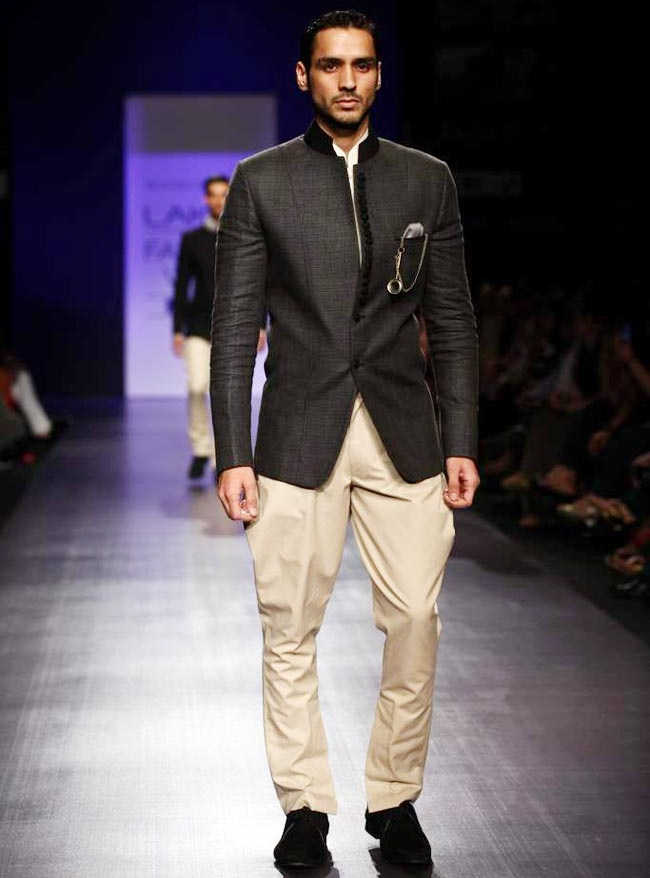 formal trouser with jacket