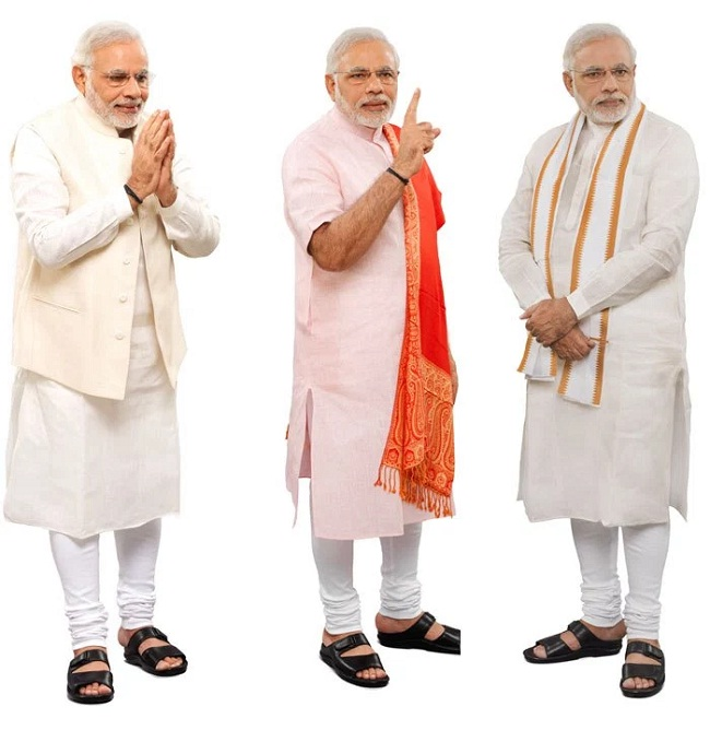 modi displayed white with perfect elegance