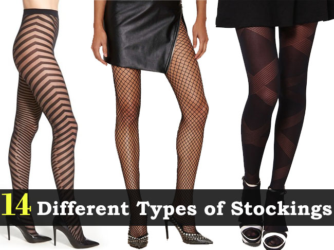 different types of stockings design