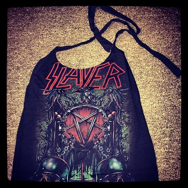 halter top from t-shirt