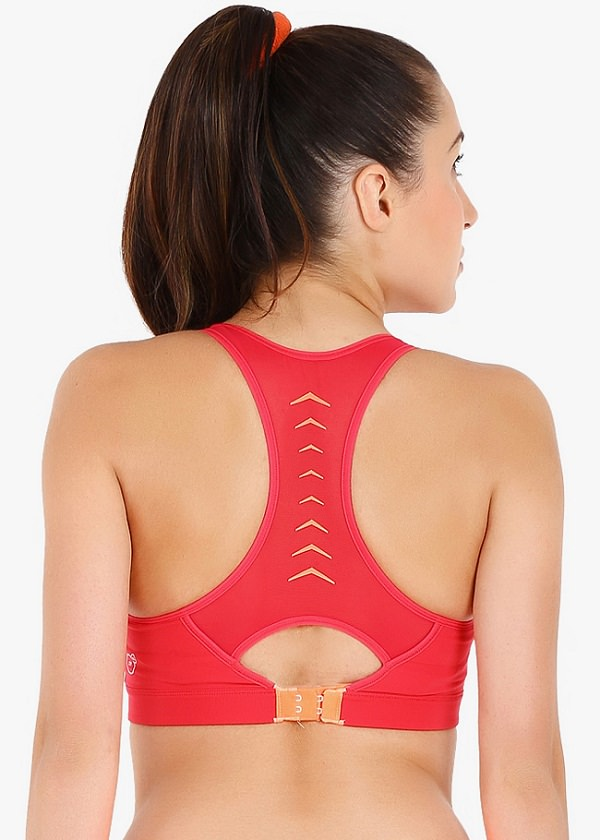 sports bra with different back design