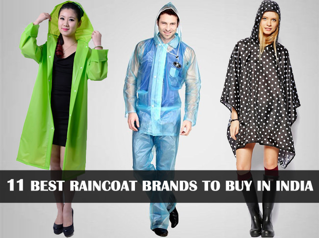 best raincoat brands to buy in india