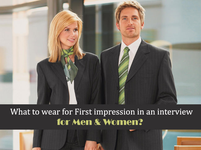 what to wear in an interview, what to wear to a job interview