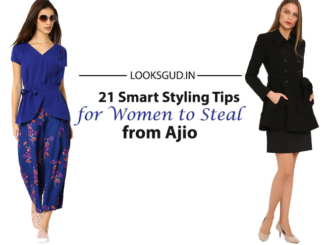 Ajio brand styles tips for women