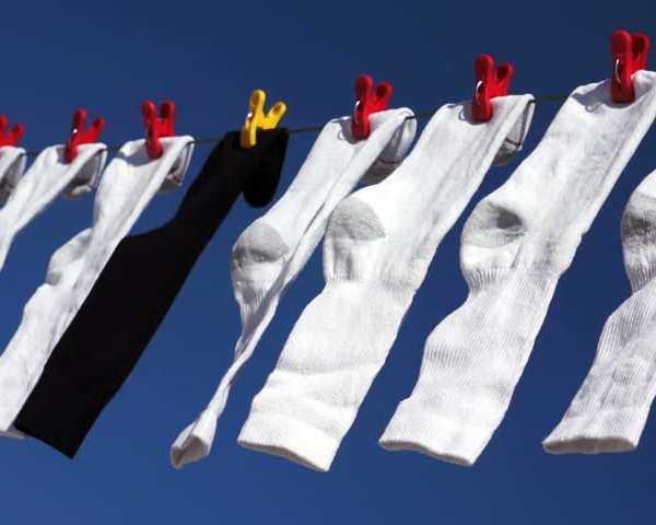 always air dry your socks to make them stay durable