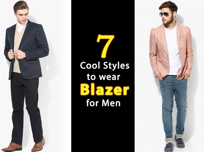 How to style men's blazer in different ways