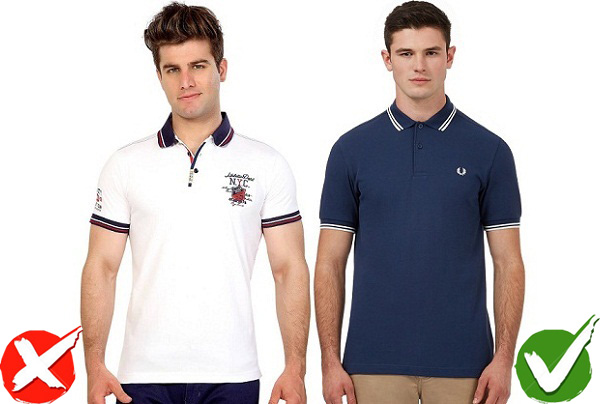 choose t-shirt with small logo