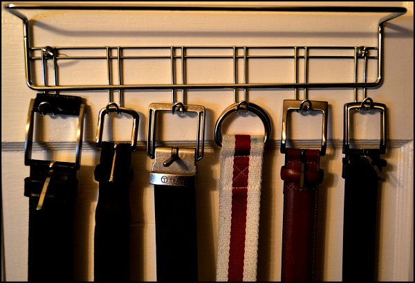 hang you belts to keep them durable