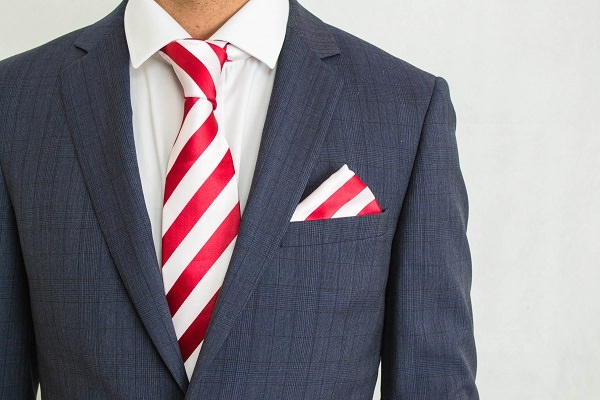 matching tie pocket square