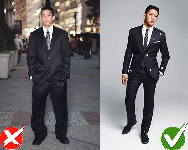 never wear baggy pant