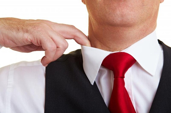 one fingure rule for collars