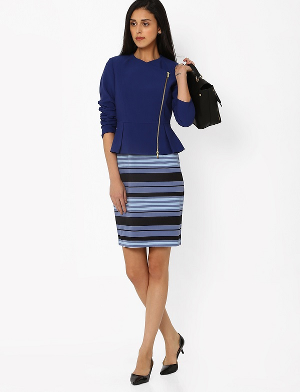 pencil skirt with jacket