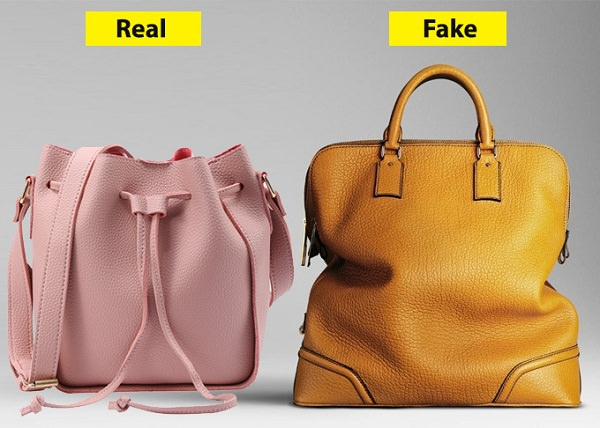 Structure Test of Real Vs Fake Leather tote bag