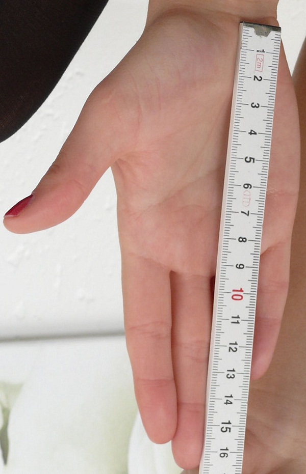 remember your hand measurement