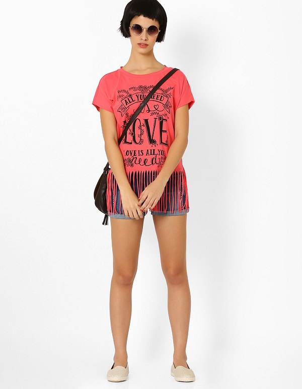 style quotient with fringed top