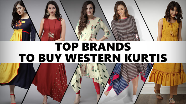 top 10 brands to buy western kurti