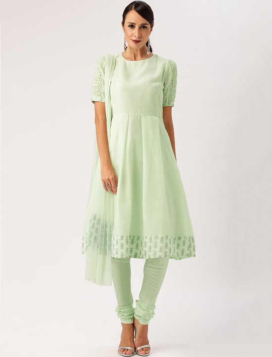 All About You from Deepika Padukone Mint Green Anarkali Salwar Suit