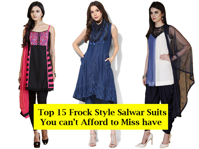 Frock Style Salwar Suits to buy online