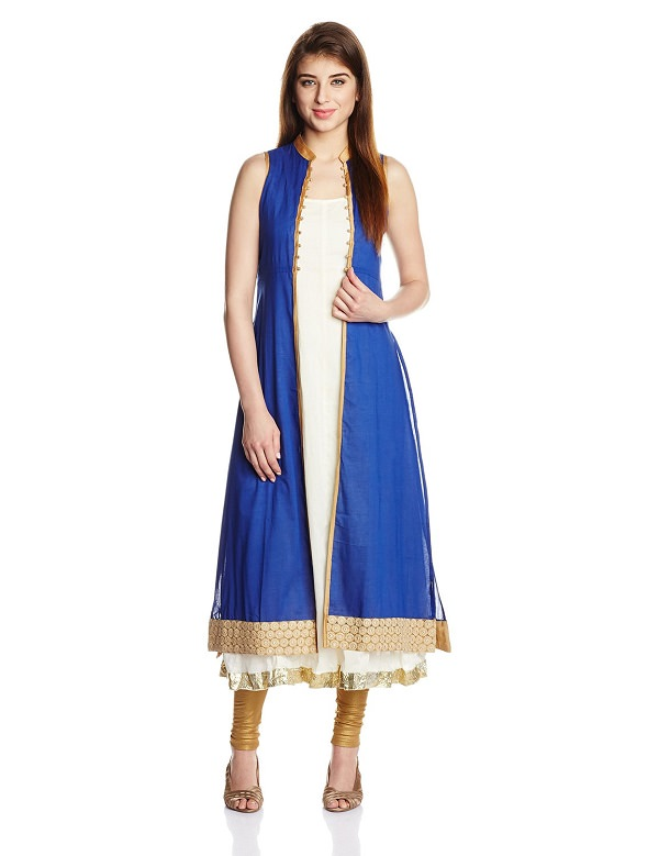 Kurti With Jacket- Layer Confidently