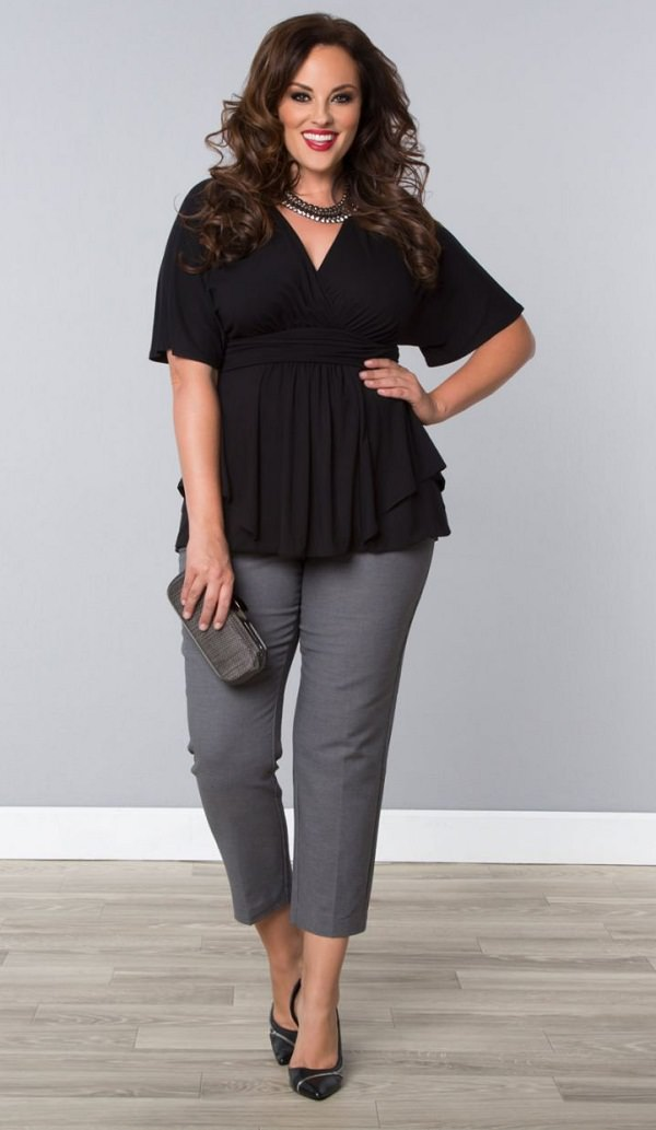 plus size fashion tips and advice to look size less