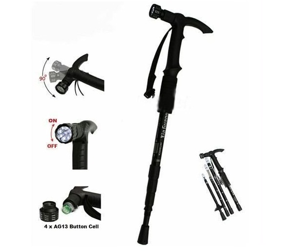 make hiking safe by including trekking poles in hiking packing list