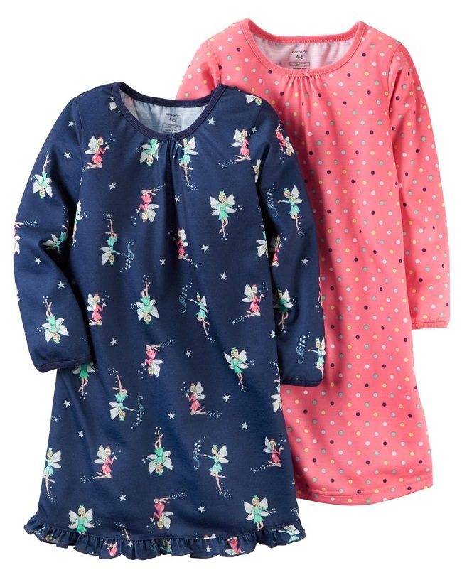 carters-night-wear, kids night suit, top brands for kids night dress