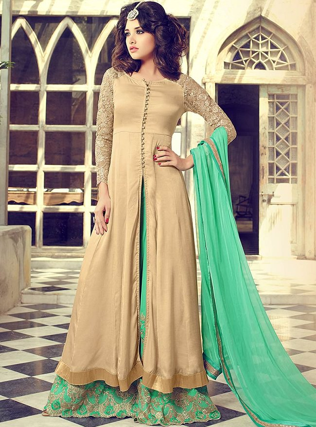palazzo suit, latest palazzo suit trends in punjab, patiala suits design