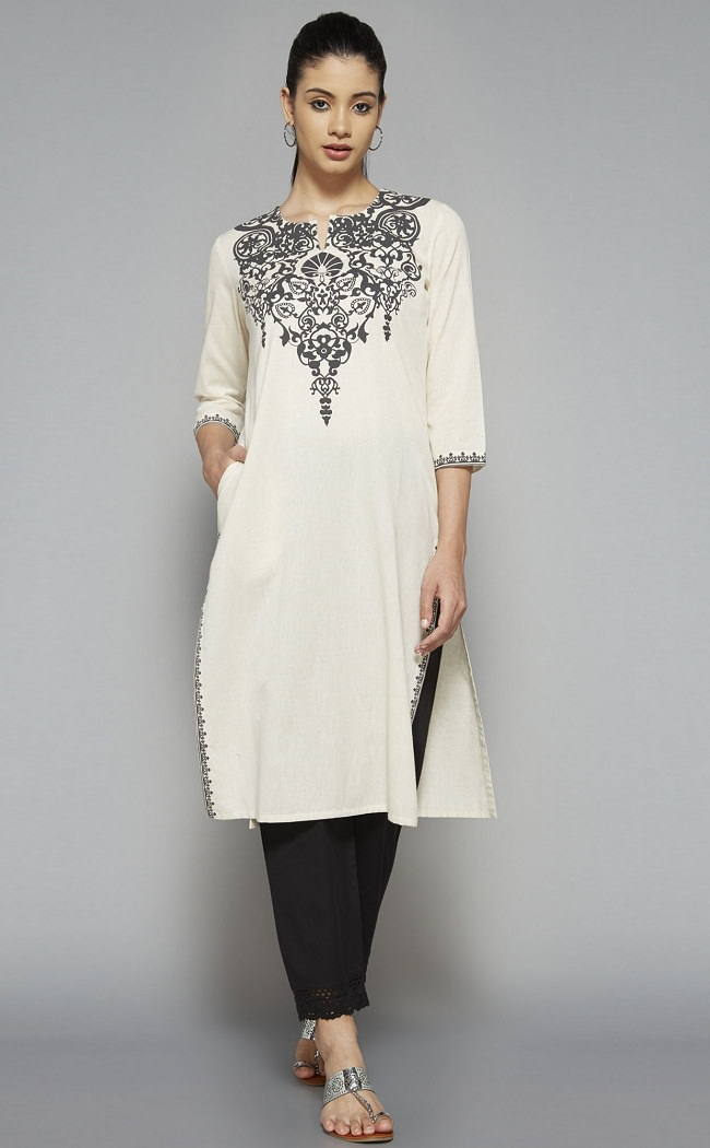 kurta-with-pant-for-summer-look
