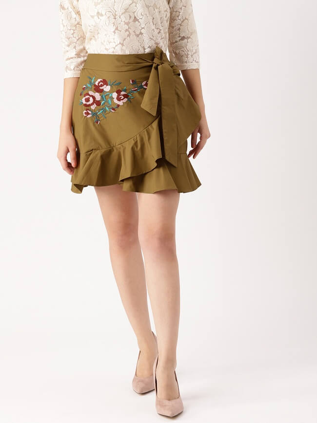 indian tops for long skirts