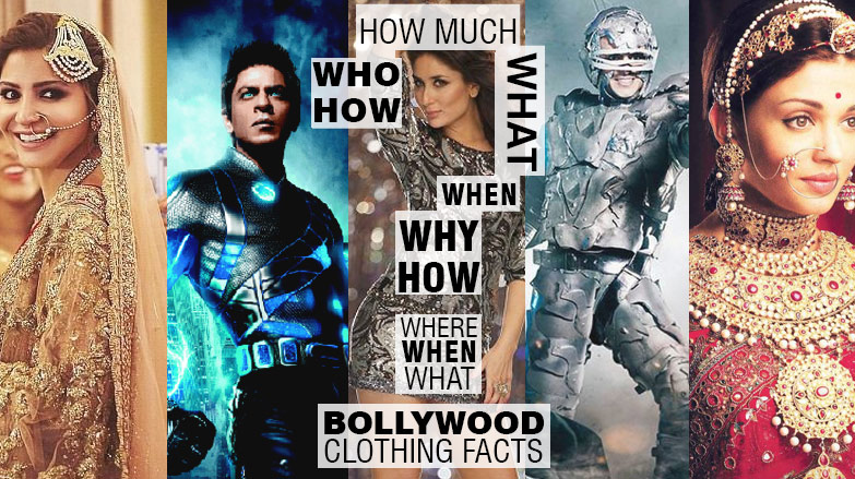 Bollywoord clothing facts