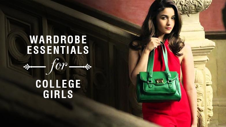 College clothing essentials for Girls