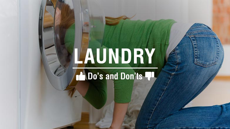 The dos and donts of doing laundry