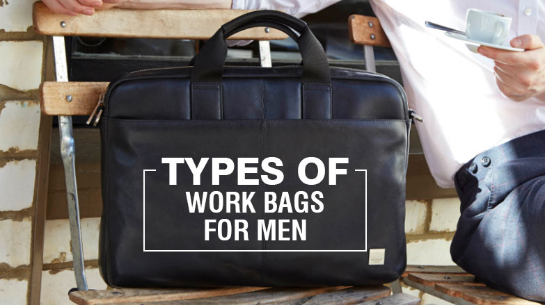 types of bags for Men