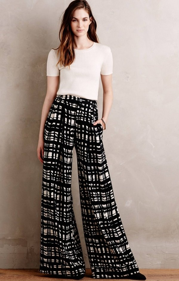 Palazzo with a Tee, tops for palazzo pants online