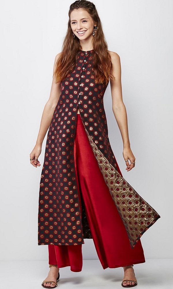 9e119fad5d 15 Ways To Pull Off Palazzo Trend This Season - LooksGud.in