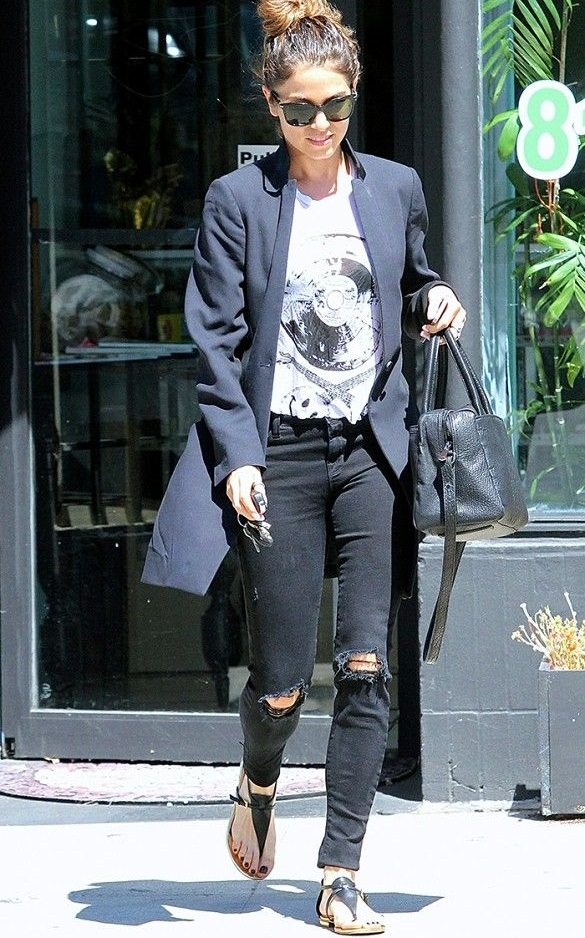 Ripped Jeans and Graphic Tees