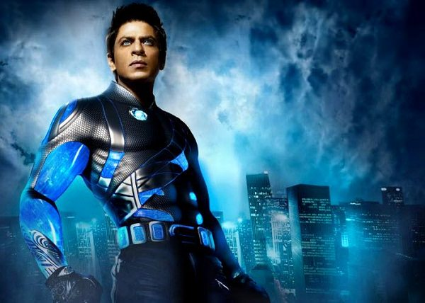 SRK each outfit in Ra. One was worth 4.5 crores