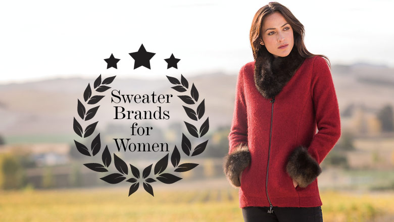 10 Best Women Sweater Brands to Embrace Winter In Hot style ...