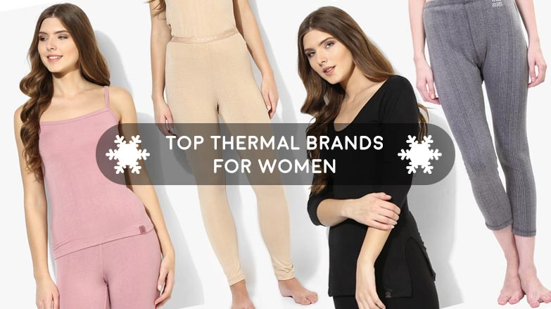 Best Brands for women's thermals