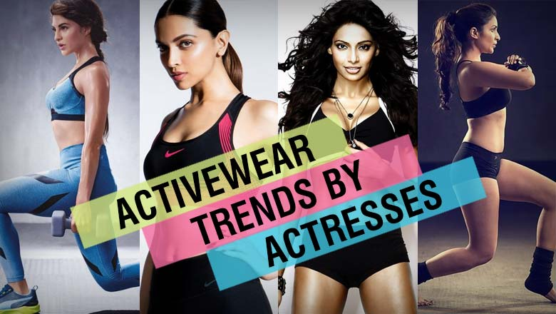 bollywood actress real gym wear clothing styles