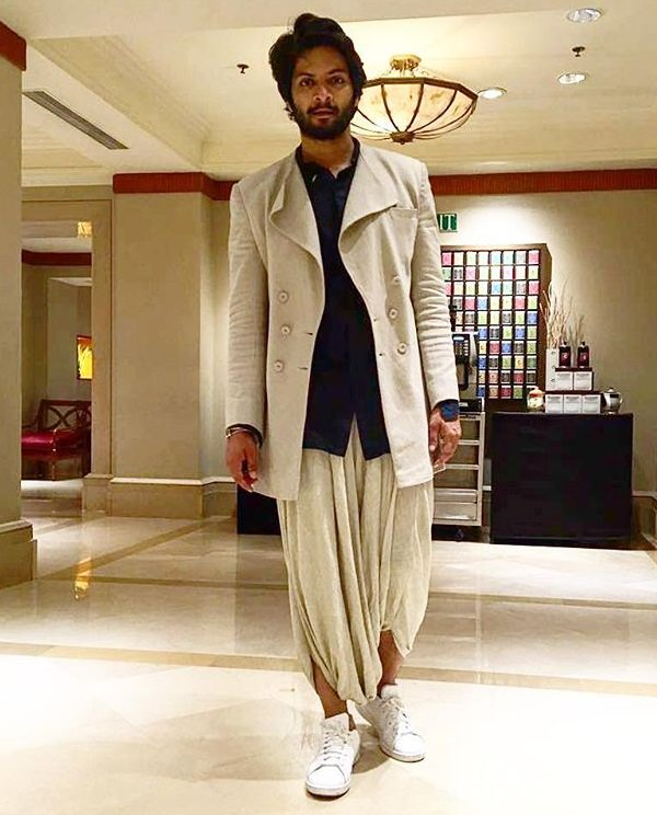 Dhoti with Coat and a Shirt