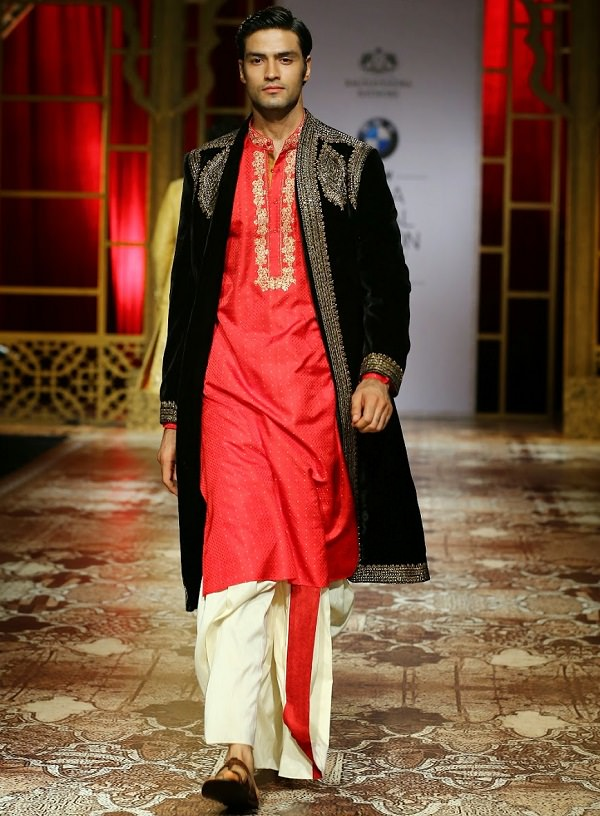 Dhoti with Long Jacket