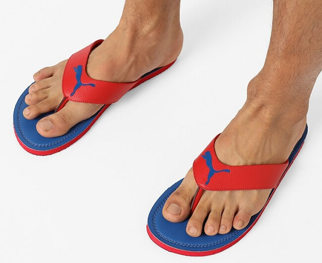 fancy flip flops online india