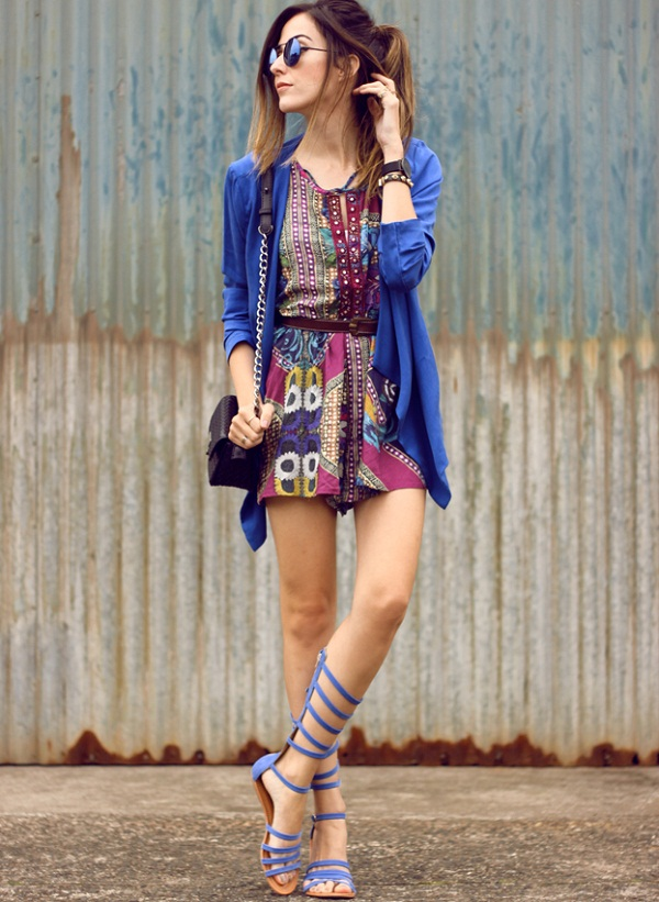 how to wear romper to look stylish